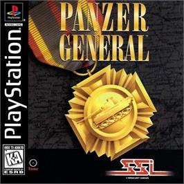 Box cover for Panzer General on the Sony Playstation.