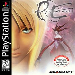 Box cover for Parasite Eve on the Sony Playstation.