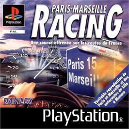 Box cover for Paris-Marseille Racing on the Sony Playstation.
