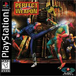 Box cover for Perfect Weapon on the Sony Playstation.