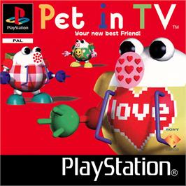 Box cover for Pet in TV on the Sony Playstation.