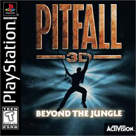 Box cover for Pitfall 3D: Beyond the Jungle on the Sony Playstation.