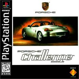 Box cover for Porsche Challenge on the Sony Playstation.
