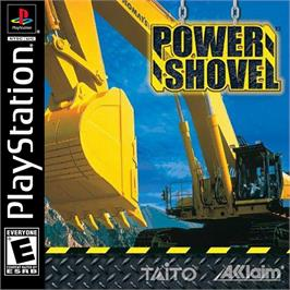 Box cover for Power Shovel on the Sony Playstation.