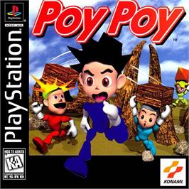 Box cover for Poy Poy on the Sony Playstation.