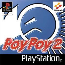 Box cover for Poy Poy 2 on the Sony Playstation.