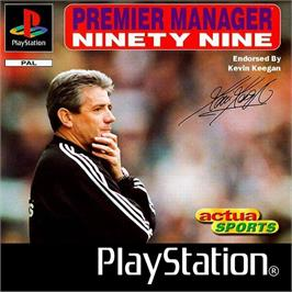 Box cover for Premier Manager Ninety Nine on the Sony Playstation.