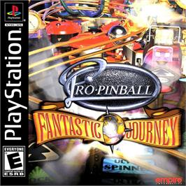 Box cover for Pro Pinball: Fantastic Journey on the Sony Playstation.