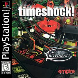 Box cover for Pro Pinball: Timeshock! on the Sony Playstation.