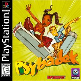 Box cover for Psybadek on the Sony Playstation.