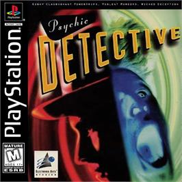 Box cover for Psychic Detective on the Sony Playstation.