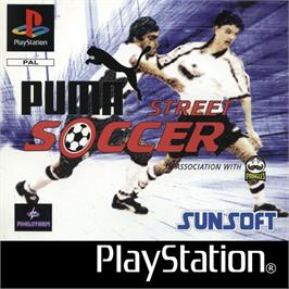Box cover for Puma Street Soccer on the Sony Playstation.
