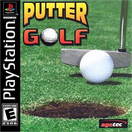 Box cover for Putter Golf on the Sony Playstation.