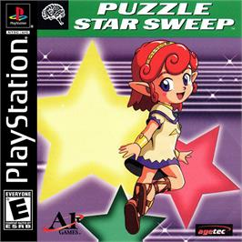 Box cover for Puzzle Star Sweep on the Sony Playstation.