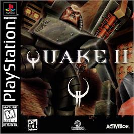 Box cover for Quake II on the Sony Playstation.