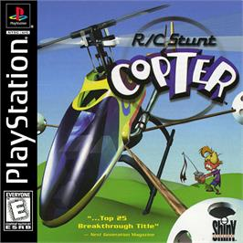 Box cover for R/C Stunt Copter on the Sony Playstation.