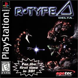 Box cover for R-Type Delta on the Sony Playstation.