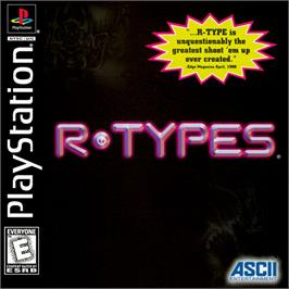Box cover for R-Types on the Sony Playstation.
