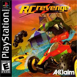 Box cover for RC Revenge on the Sony Playstation.
