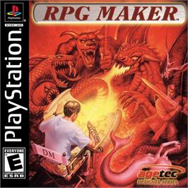 Box cover for RPG Maker on the Sony Playstation.