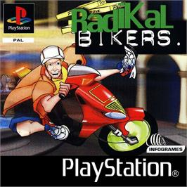 Box cover for Radikal Bikers on the Sony Playstation.