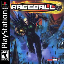 Box cover for Rageball on the Sony Playstation.