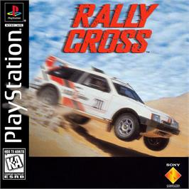 Box cover for Rally Cross on the Sony Playstation.