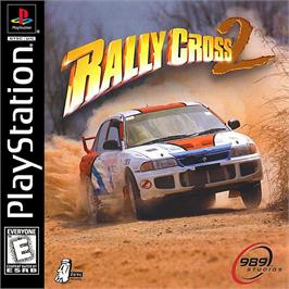 Box cover for Rally Cross 2 on the Sony Playstation.