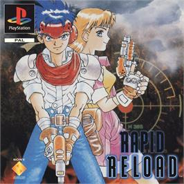 Box cover for Rapid Reload on the Sony Playstation.