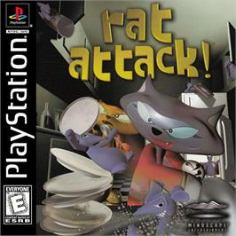 Box cover for Rat Attack on the Sony Playstation.