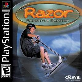 Box cover for Razor Freestyle Scooter on the Sony Playstation.