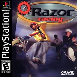 Box cover for Razor Racing on the Sony Playstation.