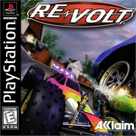 Box cover for Re-Volt on the Sony Playstation.