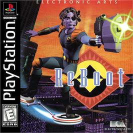 Box cover for ReBoot on the Sony Playstation.