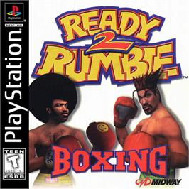 Box cover for Ready 2 Rumble Boxing on the Sony Playstation.