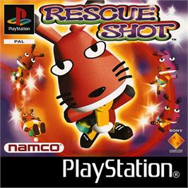 Box cover for Rescue Shot on the Sony Playstation.