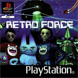 Box cover for Retro Force on the Sony Playstation.