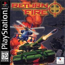 Box cover for Return Fire on the Sony Playstation.