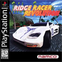 Box cover for Ridge Racer Revolution on the Sony Playstation.