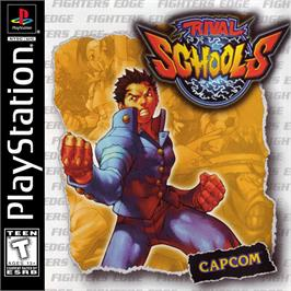 Box cover for Rival Schools: United by Fate on the Sony Playstation.