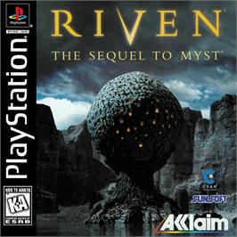 Box cover for Riven: The Sequel to Myst on the Sony Playstation.