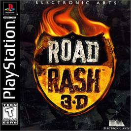 Box cover for Road Rash 3-D on the Sony Playstation.