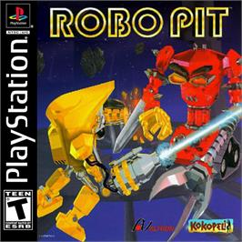 Box cover for Robo Pit on the Sony Playstation.