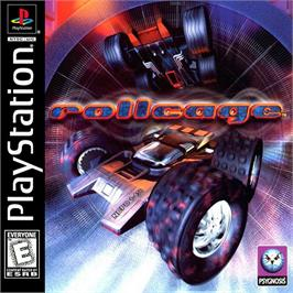 Box cover for Rollcage on the Sony Playstation.