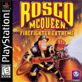 Box cover for Rosco McQueen Firefighter Extreme on the Sony Playstation.