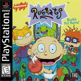 Box cover for Rugrats: Search for Reptar on the Sony Playstation.