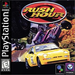 Box cover for Rush Hour on the Sony Playstation.