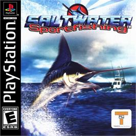 Box cover for Saltwater Sportfishing on the Sony Playstation.