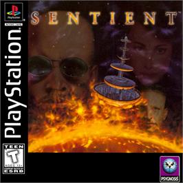Box cover for Sentient on the Sony Playstation.