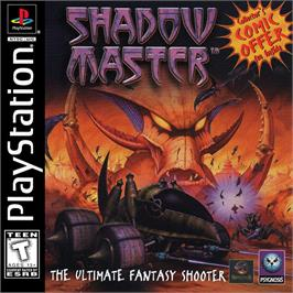 Box cover for Shadow Master on the Sony Playstation.